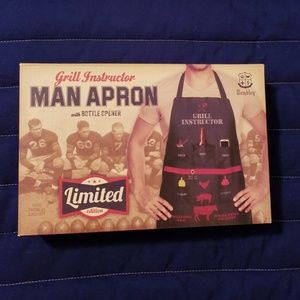 ✔NIB Grill Instructor Man Apron